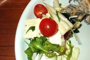 島田さんのおいしい豆腐と有機白菜のサラダ