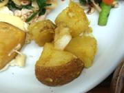 姫ホタテとじゃが芋のターメリックオーブン焼き