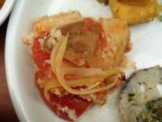 有機ジャガ芋と有機トマトのパン粉焼き ローズマリー風味