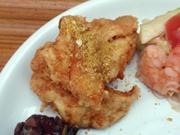 富士山ゆうゆう鶏ムネ肉の天ぷら カレー塩添え