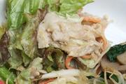 有機サニーレタスとシャキシャキ有機大根のサラダ