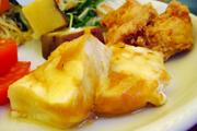 島田さんのおいしいお豆腐。味噌チーズ焼き