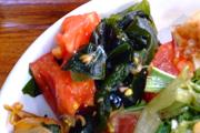 有機トマトの中華ドレッシング