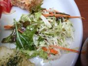 2色のクリーミーコールスローサラダ