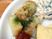 有機新ジャガ芋の磯チーズ焼き