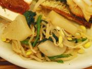 有機ほうれん草と豆もやしの中華ナムル