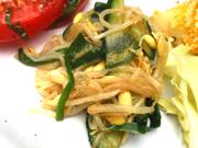 有機豆もやしとニラの中華ナムル