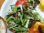 有機トマトと釜あげしらすのバルサミコ酢和え