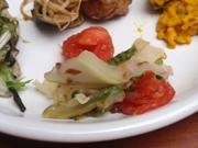 有機キャベツと有機ゴーヤのポン酢サラダ