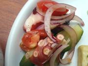 ボイルタコと有機夏野菜のイタリアンマリネ