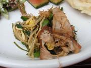 しゃきしゃき有機小松菜と豆もやしのおひたし