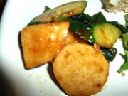 みちのく有機長芋と有機キュウリの豆味噌和え