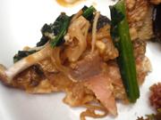 秋鮭ときのこのちゃんちゃん焼き