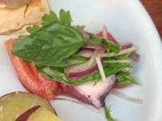 ボイルダコと有機トマトのイタリアンマリネ