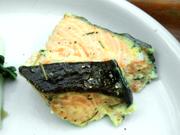 鮭のガーリックハーブ焼き
