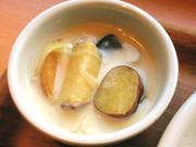 金時芋のクリームシチュー