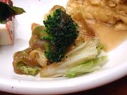 白菜のスチーム 黒コショウソース