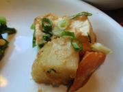 島田さん豆腐のあつあつネギみそ焼き