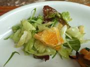 いよかんと有機レタスのヨーグルトサラダ