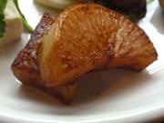 有機大根のやわらかガーリックステーキ