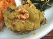 胡桃入り有機さつま芋のマッシュ