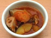 有機根菜とひよこ豆のベジタリアンラタトゥユ