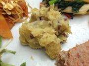 有機さつま芋とレーズンのマッシュ