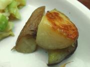 有機さつま芋と有機ジャガ芋のシナモンバター焼き