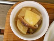 きのこと有機大根の生姜たっぷり中華風旨煮
