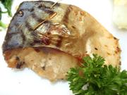鯖のハーブ焼き