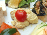 有機新ジャガ芋のカレーマヨネーズ和え