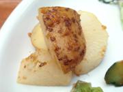 有機ジャガ芋と有機大根のロースト バーベキューソース