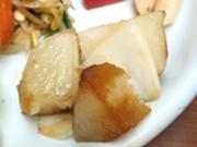 有機ジャガ芋のバター醤油焼き