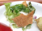 有機レタスと有機きゅうりのグリーンサラダ