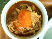 田園豚と有機玉葱と有機人参のとろーリデミグラス煮込み