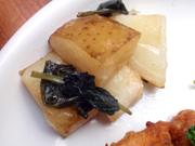 有機ジャガ芋のバターしょうゆ焼き