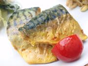 鯖のカレースパイス焼き