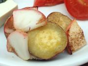 有機さつま芋と津軽りんごのシナモンバター焼き