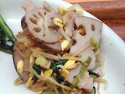 豆もやしと有機ニラの中華ナムル