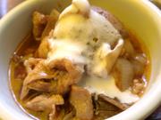 田園豚のデミグラス煮 ヨーグルト添え