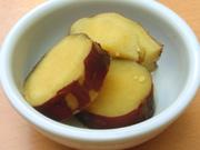 有機金時芋のはちみつレモン煮