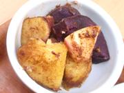 有機金時芋とリンゴのオーブン焼き シナモン風味