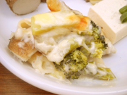 有機ジャガ芋と有機ブロッコリーのクリームグラタン