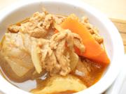 ヘルシー豚と有機ジャガ芋のデミグラス煮込み
