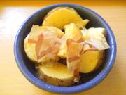 みちのく有機長芋の梅おひたし