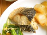 鯖のガーリックハーブ焼き