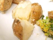 有機ジャガ芋の塩バター和え