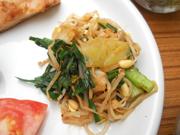 有機春キャベツと有機小松菜と豆もやしのナムル