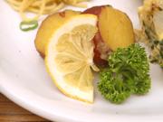 有機さつま芋のはちみつレモン和え