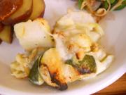 ホタテと有機野菜のクリームグラタン